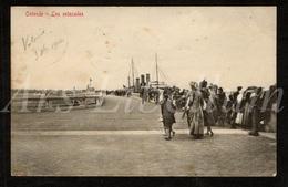 Postkaart / CPA / Oostende / Ostende / Les Estacades / 1912 / 2 Scans / Ed. V.G. - Oostende