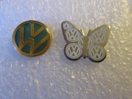 PIN'S   LOT 2   LOGO   VOLKSWAGEN - Volkswagen