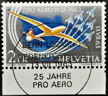 1963 Pro Aero ET-Stempel MiNr: 780 - Switzerland