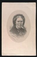 LITHO VAN LOO - ADEL NOBLESSE - GEORGINA De NAEYER - GENT  OVERLEDEN 1873  58 JAAR OUD - 2 SCANS - Décès