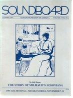 Revue Guitare Soundboard Guitar Fondation Of America N° 2 - 1991 - Art