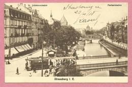 67 - STRASSBURG - STRASBOURG - St. Johannes Staden - Tram - Tramway - Strassenbahn - Strasbourg