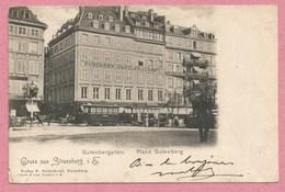 67 - STRASSBURG - STRASBOURG - Gutenbergplatz - Tram - Tramway - Strassenbahn - Voir état - Strasbourg