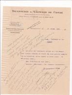 59-Brasserie & Malterie De.Condé-sur-l'Escaut..Valenciennes ...(Nord)..1920 - Andere