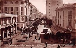 ¤¤  -  MAROC   -   CASABLANCA   -  La Boulevard De La Gare       -  ¤¤ - Casablanca