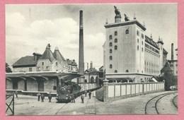 67 - SCHILTIGHEIM - Brauerei Zum FISCHER - Ansicht Der Malzfabrik - Brasserie - Bierre - Train - Locomtive - Voie Ferrée - Schiltigheim