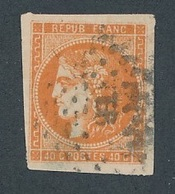 """DH-138: FRANCE: Lot Avec """"BORDEAUX"""" N°48 Obl  Obl Signé BRUN - 1870 Ausgabe Bordeaux"""