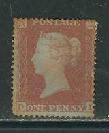 GRANDE BRETAGNE N° 5 *. Petite Couronne Dent. 16 (petit Défaut) - Unused Stamps
