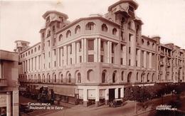 ¤¤  -  MAROC   -   CASABLANCA   -  Boulevard De La Gare      -  ¤¤ - Casablanca