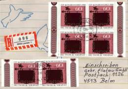 [404857]B/TB//-Allemagne 1991 - Recommandé, Animaux, Oiseaux - [7] Federal Republic