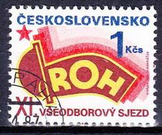 Tchécoslovaquie 1987 Mi 2907 (Yv 2719 ), Obliteré - Tsjechoslowakije