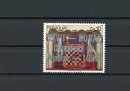 Paraguay MiNr. 4057 Postfrisch MNH Schach (Scha343 - Paraguay