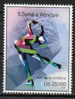 SAINT THOMAS ET PRINCE N° 4509 * *   JO 2014   Patinage - Figure Skating