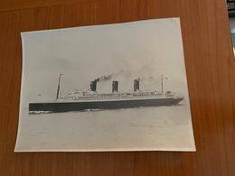 "PAQUEBOT  ' Ile De France "" Photo Original  (port Offert ) - Boten"
