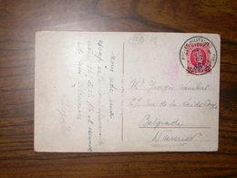 Belgique COB 247 Sur Carte - 1922-1927 Houyoux