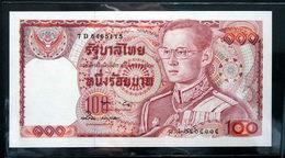 Thailand Banknote 100 Baht Series 12 P#89 SIGN#57 UNC - Thailand