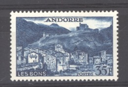 Andorre  :  Yv  150A  *     ,   N2 - French Andorra