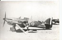 PHOTO AVION HAWKER HURRICANE Z4434  PHOTO COLLé SUR SUPPORT CARTON     18X12CM - Aviation