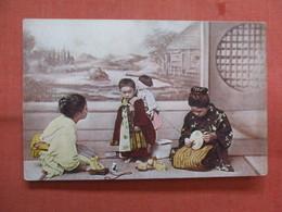 Non Postcard-- Where The Japanese Children Live   Ref 3838 - Andere