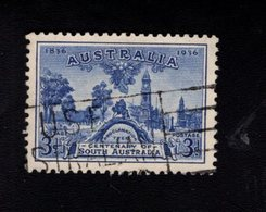916479112 1936 SCOTT 160 GEBRUIKT USED GEBRAUCHT OBLITERE (O) PROCLAMATION TREE AND VIEW OF ADELAIDE - 1913-36 George V: Heads