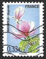FRANCE  2008 -  Preo  258  -  Magnolia - Oblitéré - 1989-....