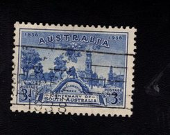 916479373 1936 SCOTT 160 GEBRUIKT USED GEBRAUCHT OBLITERE (O) PROCLAMATION TREE AND VIEW OF ADELAIDE - 1913-36 George V: Heads