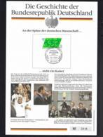 Germany Card 1990 Germany World Champion World Cup FIFA Football - An Der Spitze Steht Ein Kaiser (LAR5-75) - 1990 – Italië