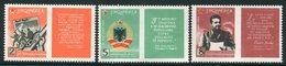 ALBANIA 1964 Anniversary Of Permet Congress  MNH / **  Michel 833-35 - Albania