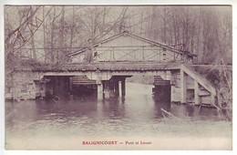 10 Balignicourt - Pont Et Lavoir - Ed: ? - France