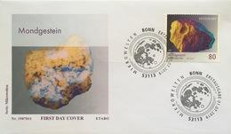 Bund BRD Ersttagsbrief FDC 1. Juli 2019 Neuheit Mondgestein Mikrowelten  - [7] West-Duitsland