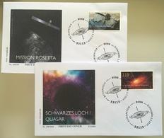 Bund BRD Ersttagsbrief FDC 1. Juli 2019 Neuheit Astrophysik MIssion Rosetta - [7] West-Duitsland