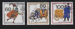 Berlin / 1989 / Mi. 852-854 O (5124) - Usados
