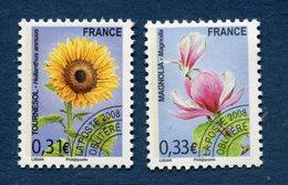 France - YT N° 257 Et 258 - Préoblitéré - Neuf Sans Charnière - 2008 - 1989-....