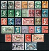 Argelia (Francesa) Nº 1/33 Nuevo*/º Cat.32,90€ - Algerije (1924-1962)