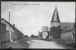 CPA 28 - Voves, Villarceaux - Rue Principale - France