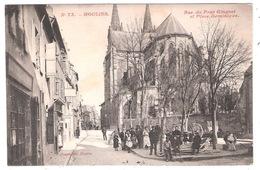 Moulins (03 - Allier)  - Rue Du Pont Ginguet Et Place Dominique - Moulins