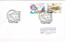 35458. Carta ALCOY (Alicante) 1999. Exposicion Filatelica. Bodas De ORO, Asociacion Filatelica - 1931-Hoy: 2ª República - ... Juan Carlos I