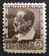 Timbre Local Patriotique De Seville N° 3  Neuf Charnière - Emissions Nationalistes