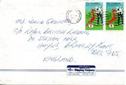 GAMBIE. N°1265 De 1992 Sur Enveloppe Ayant Circulé. Golf. - Golf