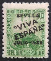 Timbre Local Patriotique De Seville N° 4  Neuf - Nationalistische Ausgaben