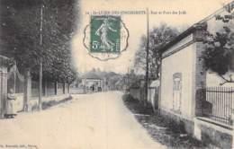 28 - SAINT LUBIN Des JONCHERETS : Rue Et Pont Des Juifs - CPA Village (4.000 Habitants) - Eure Et Loir - Francia