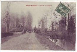 10 Balignicourt - Rue De La Chaussée - Ed: ? - France