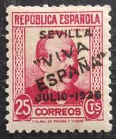 Timbre Local Patriotique De Seville N° 7  Neuf - Emissioni Nazionaliste