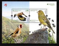 Europa CEPT 2019 Portugal Madeira Birds M/S MNH - 2019