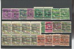 50072 ) Collection Precancel - Vereinigte Staaten