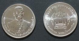 Thailand Coin 20 Baht 2010 King III Father Thai Trade UNC - Thailand