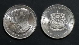 Thailand Coin 10 Baht 1987 100th Chulachomklao Military Academy Y189 - Thailand
