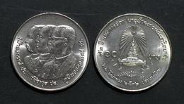 Thailand Coin 10 Baht 1989 72nd Chulalongkorn University Y228 - Thailand