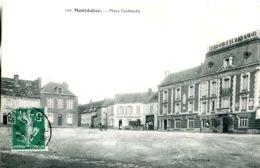 N°1641 T -cpa Montdidier -place Faidherbe- - Montdidier