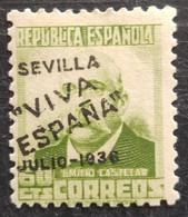 Timbre Local Patriotique De Seville N° 12  Neuf - Emissions Nationalistes